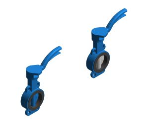 Product: Drinking Water - Sylax With Notched Ductile Iron Handlever - Wafer