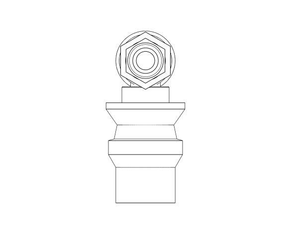 bimstore 3D image of the Watts CA 9C - Backflow Preventer CAa type