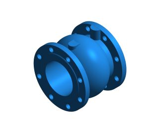 Product: CNR 402 - Non-return Valve Axial Guided