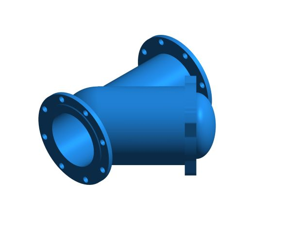bimstore 3D image of the Watts CNR 408 - 418 Non-return Ball check valve