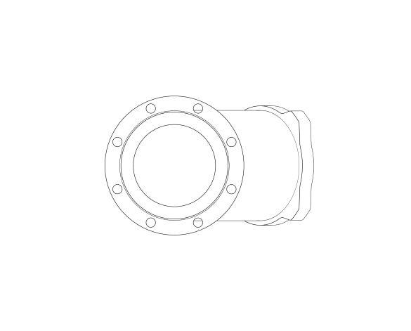 bimstore side image of the Watts CNR 408 - 418 Non-return Ball check valve