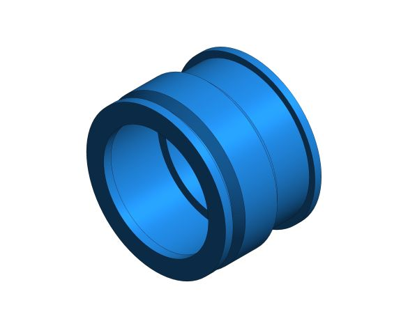 bimstore 3D image of the Watts CNR 892 - Non-return Valve Axial Guided