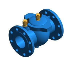 Product: EA 453 - Anti-pollution Cast Iron Check Valve