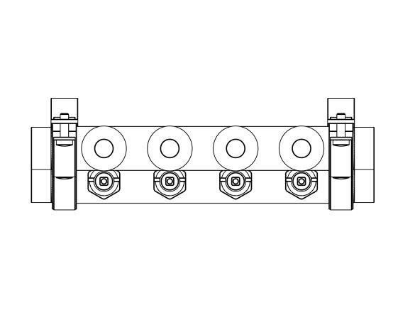 Product: Manifold Brass HKV2013A (0-4L)