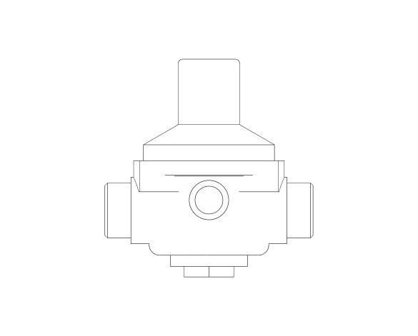 bimstore front image of the Watts RDP 11 Pressure Reducing Valve