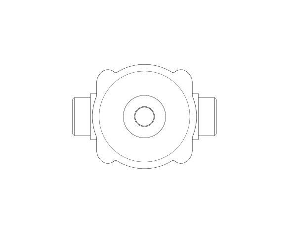 bimstore plan image of the Watts RDP 11 Pressure Reducing Valve