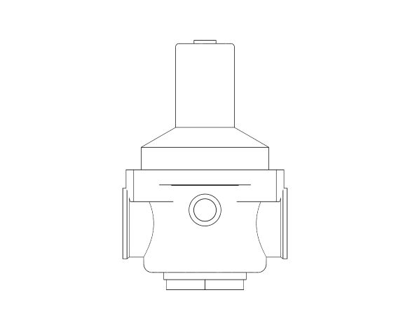 bimstore front image of the Watts RDP 11bis Pressure Reducing Valve