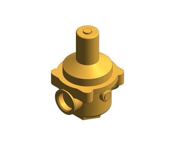 bimstore 3D image of the Watts RDP 11bis Pressure Reducing Valve