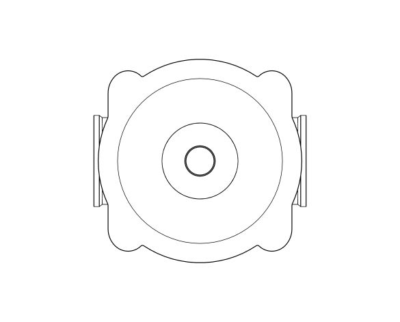 bimstore plan image of the Watts RDP 11bis Pressure Reducing Valve