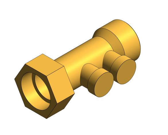 Product: WF - Anti-pollution Brass Check Valve