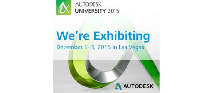 Logo: We'll see you at #AU2015!