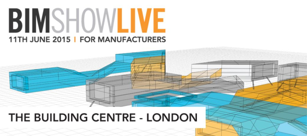 Logo: Announcing BIM Show Live for Manufacturers - 11th June 2015