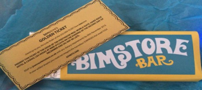 Logo: I've got a bimstore golden ticket!