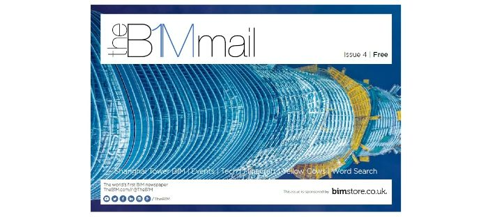 Logo: Issue 4 of The B1M Mail released, sponsored by bimstore
