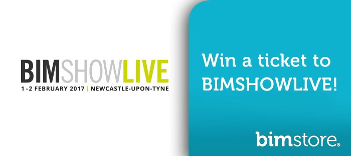 Logo: Win your ticket to BIM Show Live 2017 with <strong>bim</strong>store!