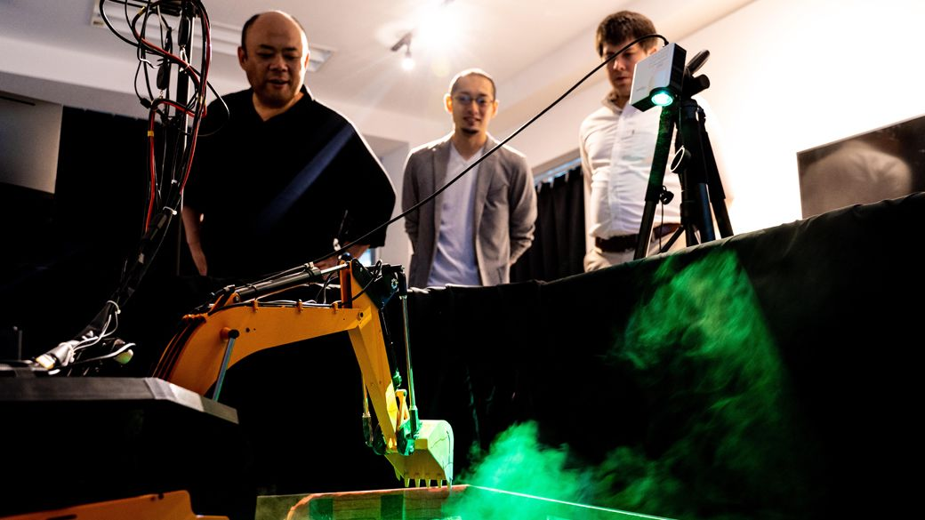 Engineers overseeing space robot progress